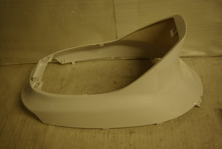 Piaggio Zip (old shape) under seat panel white
